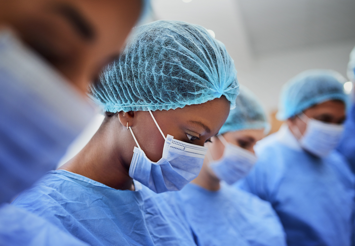 Healthworker wearing PPE