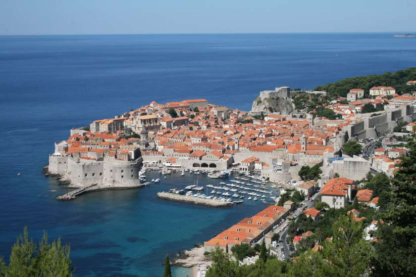 An image of Dubrovnik in Croatia, you might know it as kings landing from GOT