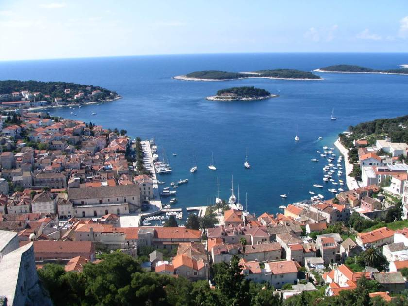 A picture of Hvar in Croatia