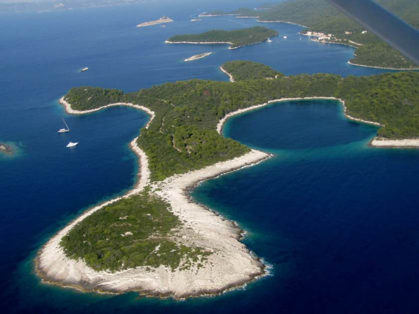 An image of mljet island in Croatia
