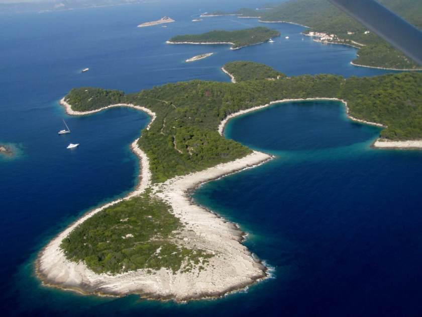 An image of mljet island in Croatia