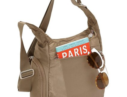 A picture of the ebags piazza day bag that can be worn on your shoulder or across the body