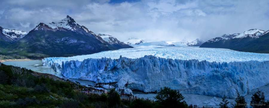 An breathtaking view of the Perito Moreno Glacier