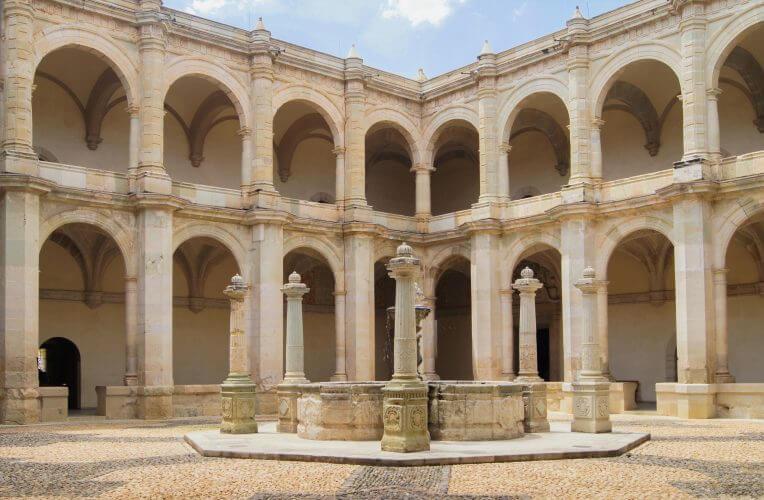 A picture of the interior of Santo Domingo de Guzman