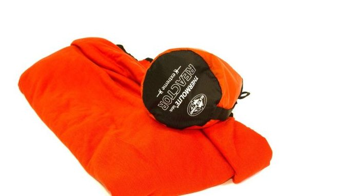 An image of an extreme weather sleeping bag liner
