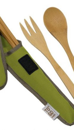 Bamboo Travel Utensils