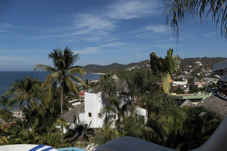 An image of Sayulita in Mexico