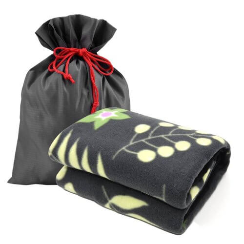 Forestfish Fleece Throw Blanket