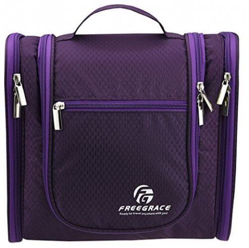 1. Premium Toiletry Bag By Freegrace