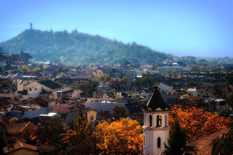 An image of Plovdiv in Bulgaria