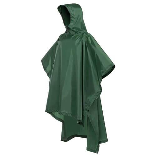 2. Terra Hiker Rain Poncho