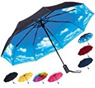 Rain-mate windproof travel umbrella