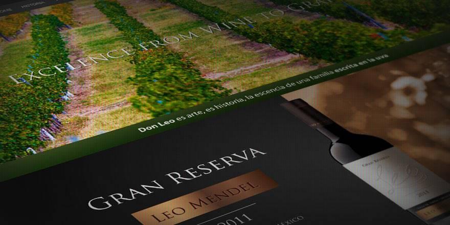 página web vinos don leo