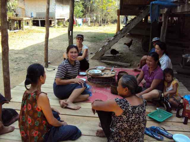 Gastfreundschaft in Laos
