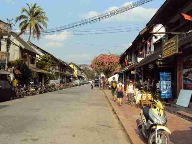 Hauptstrasse in Luang Prabang