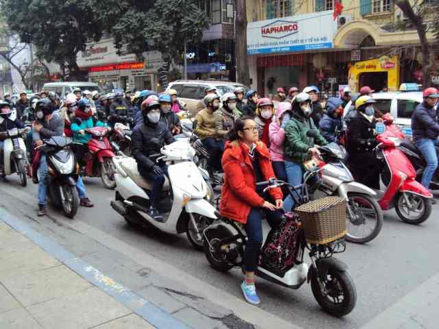 Traffic in Hanoi