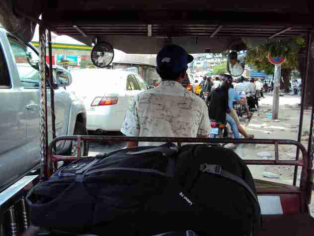 TukTuk in Phnom Penh