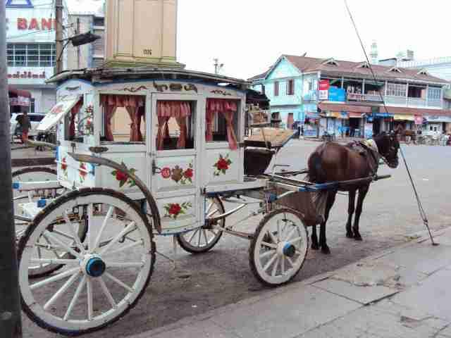 Pferdekutschen in Pyin U Lwin