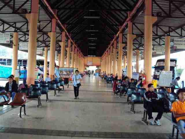 Busbahnhof in Ubon