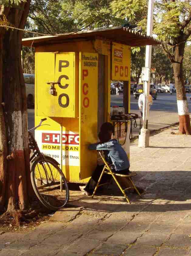 Verkaufsstand in Mumbai