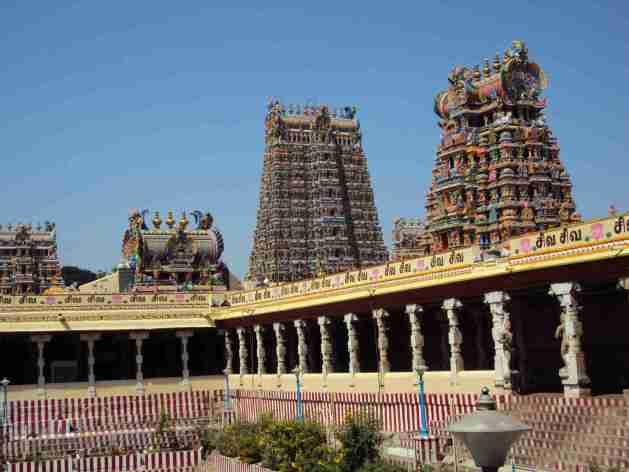 Tempel in Madurai