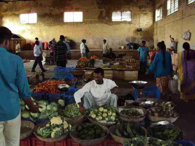 Markt in Madikeri