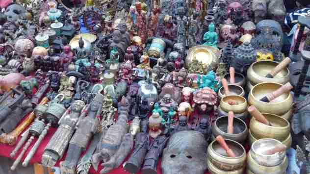 Verkaufsstände beim Durbar Square