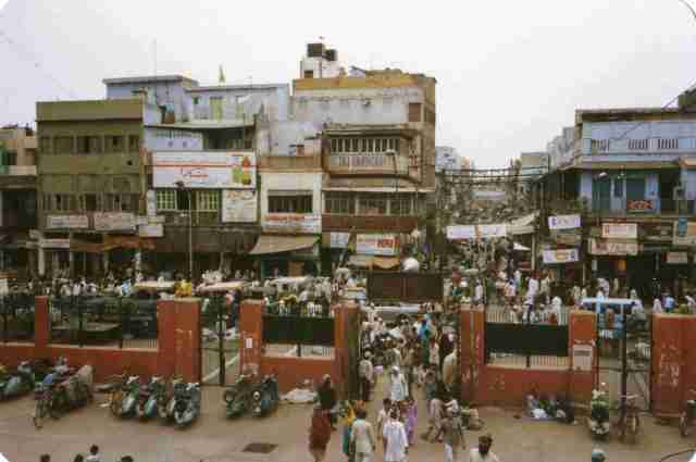 Back in Indian Hustle and Bustle