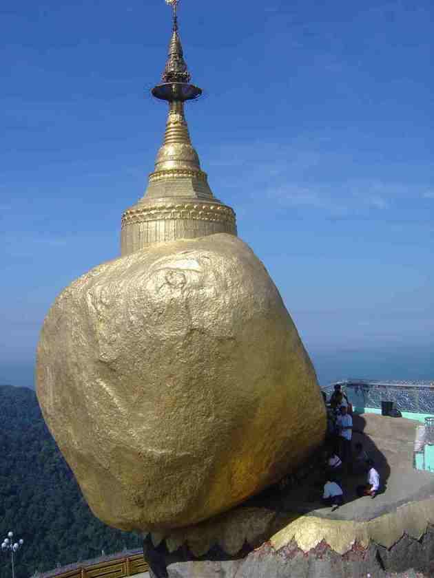 Myanmar Hightlight - The Golden Rock