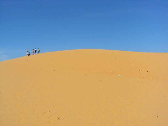 Backpacking in Southeast Asia - Dunes at Mui Ne