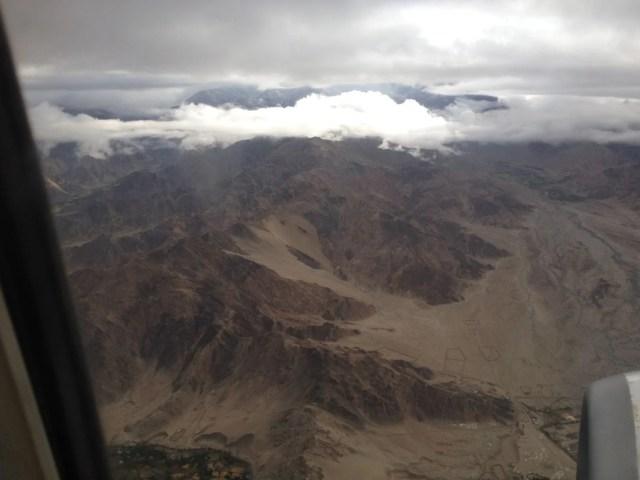 Düstere Bergketten