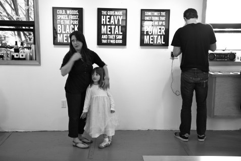 Mother and Daughter and Power Metal