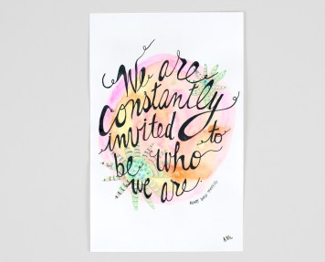 We are Constantly invited