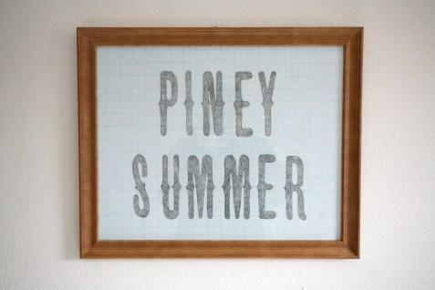 Piney Summer