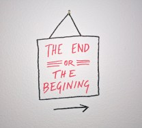 the end or the begining