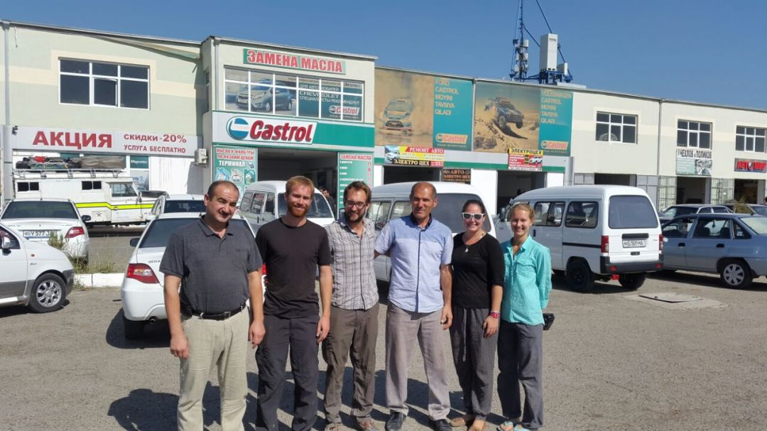 Bukhara and the Art of Landrover Maintainence