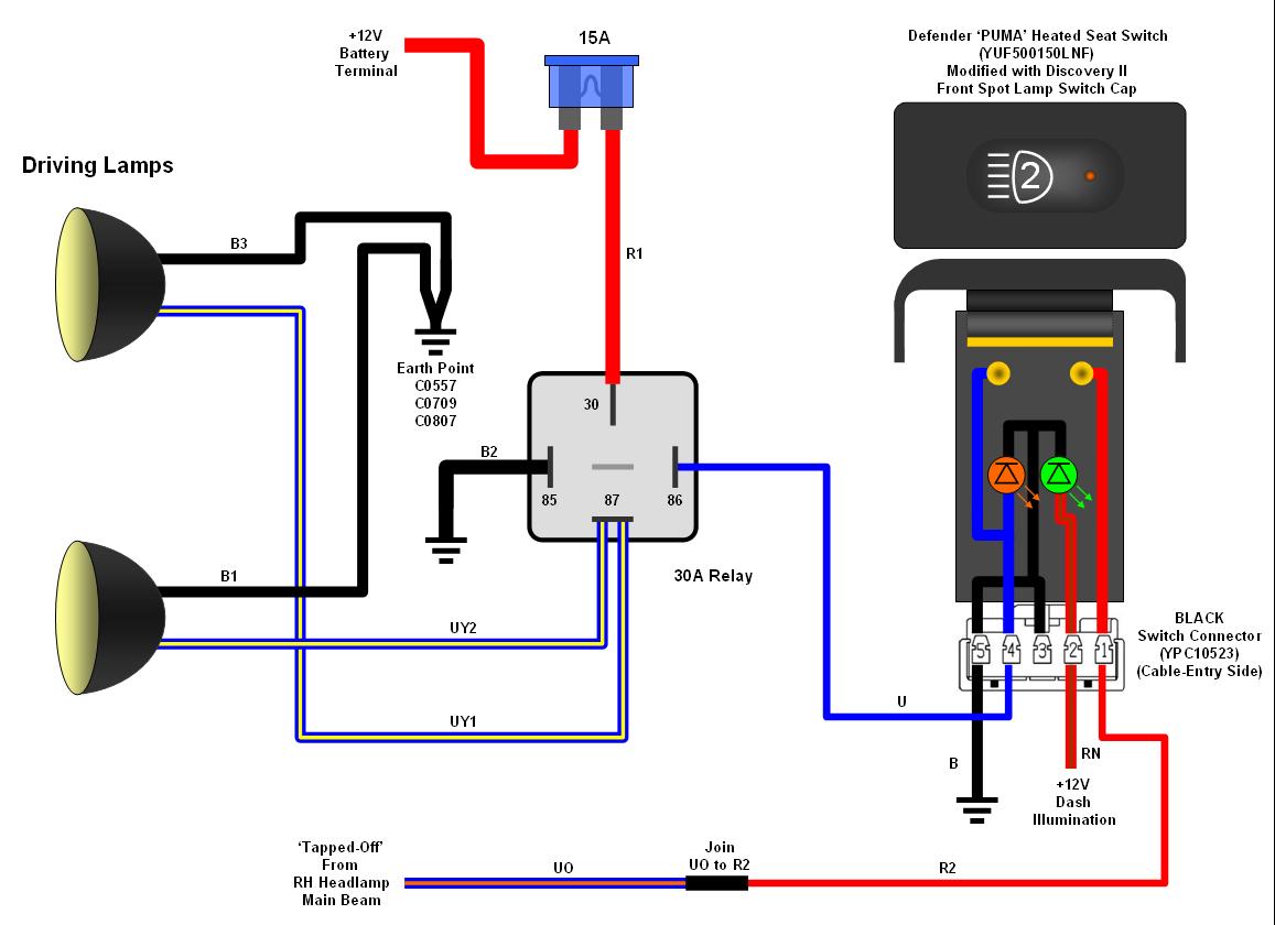 Hella Lights Wiring Diagram Switch