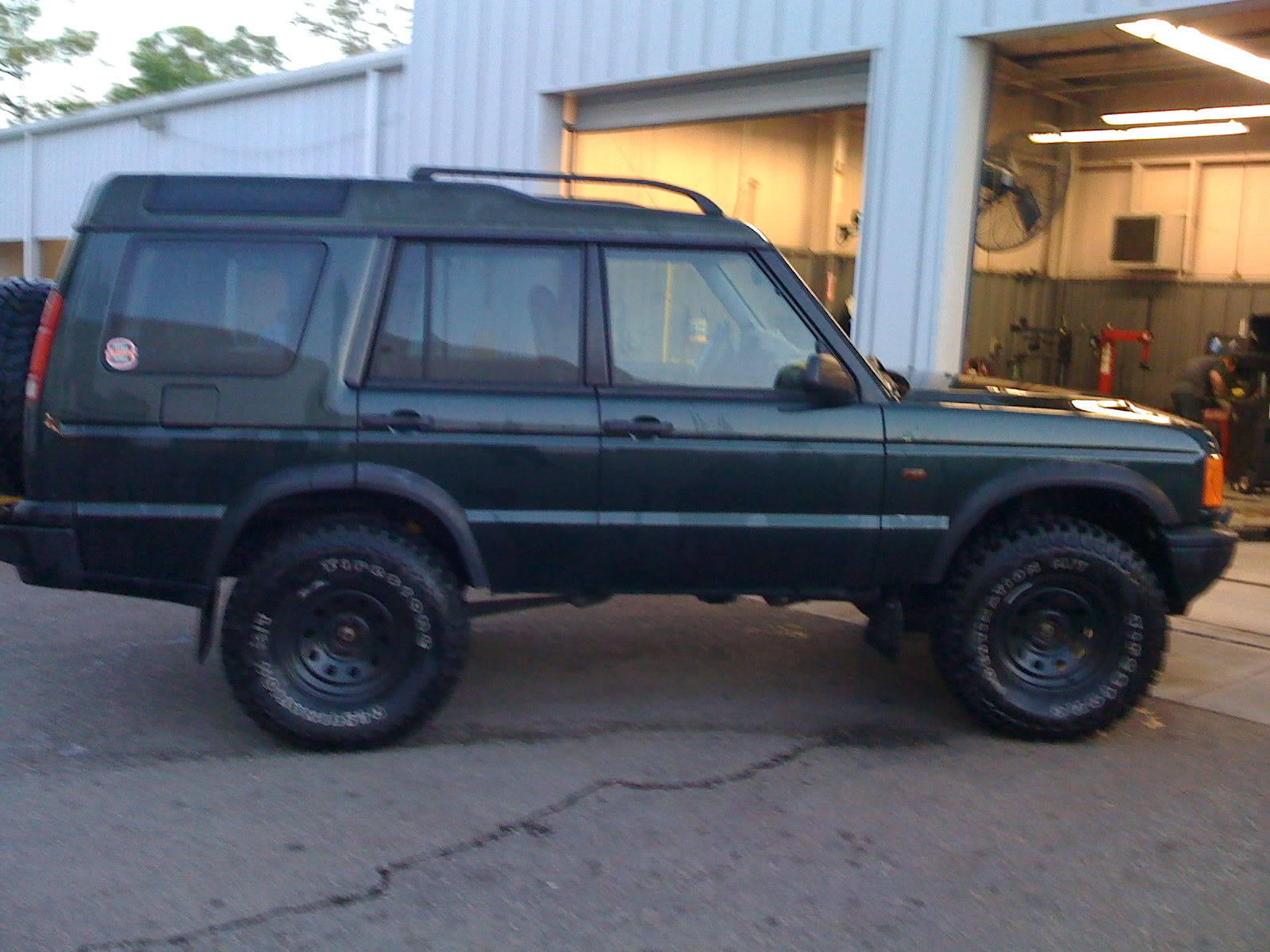 of 2inch lift and tires Page 7 Land Rover Forums