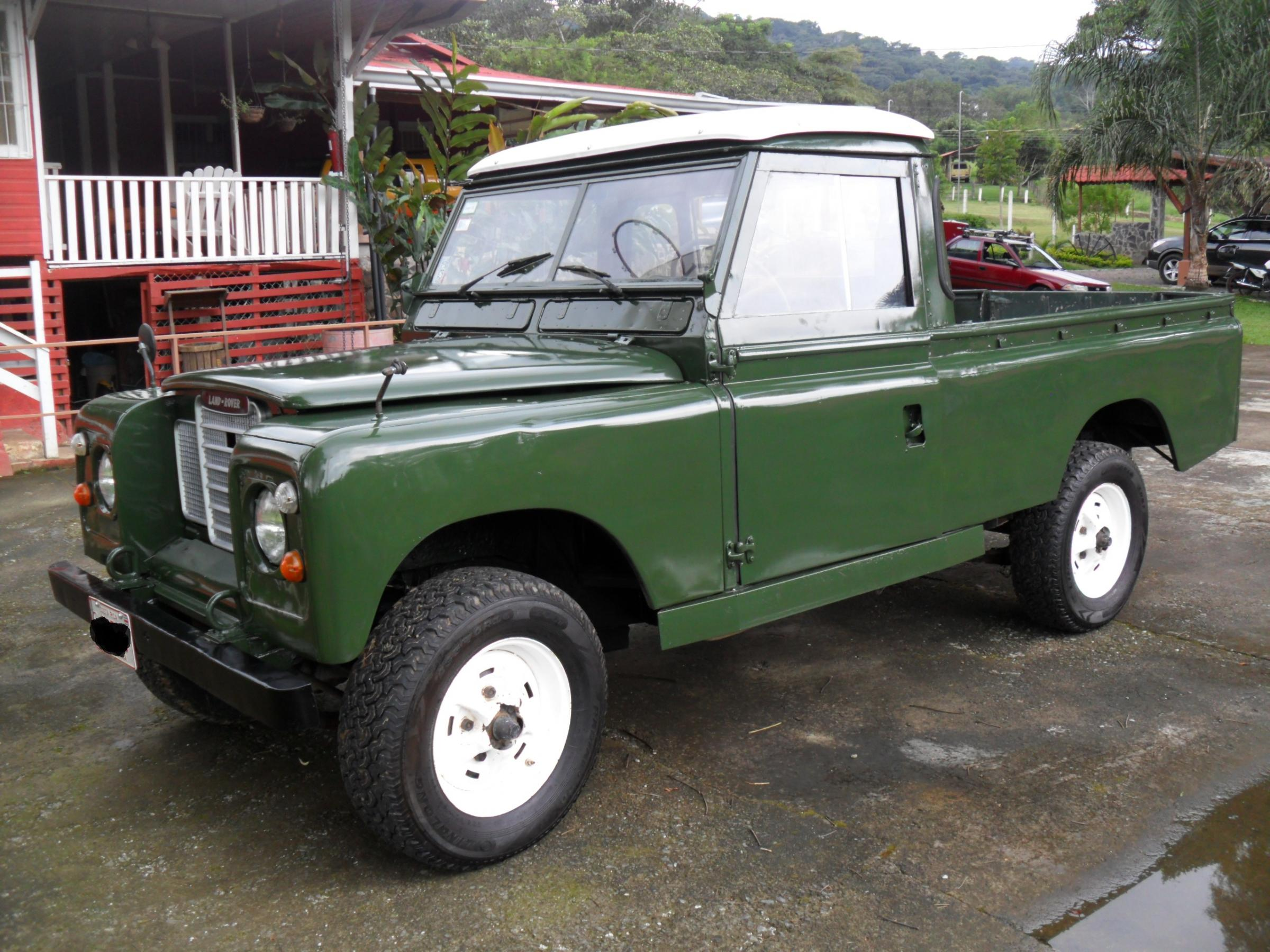1969 Diesel 109 Series II Land Rover Pick Up Truck Land Rover