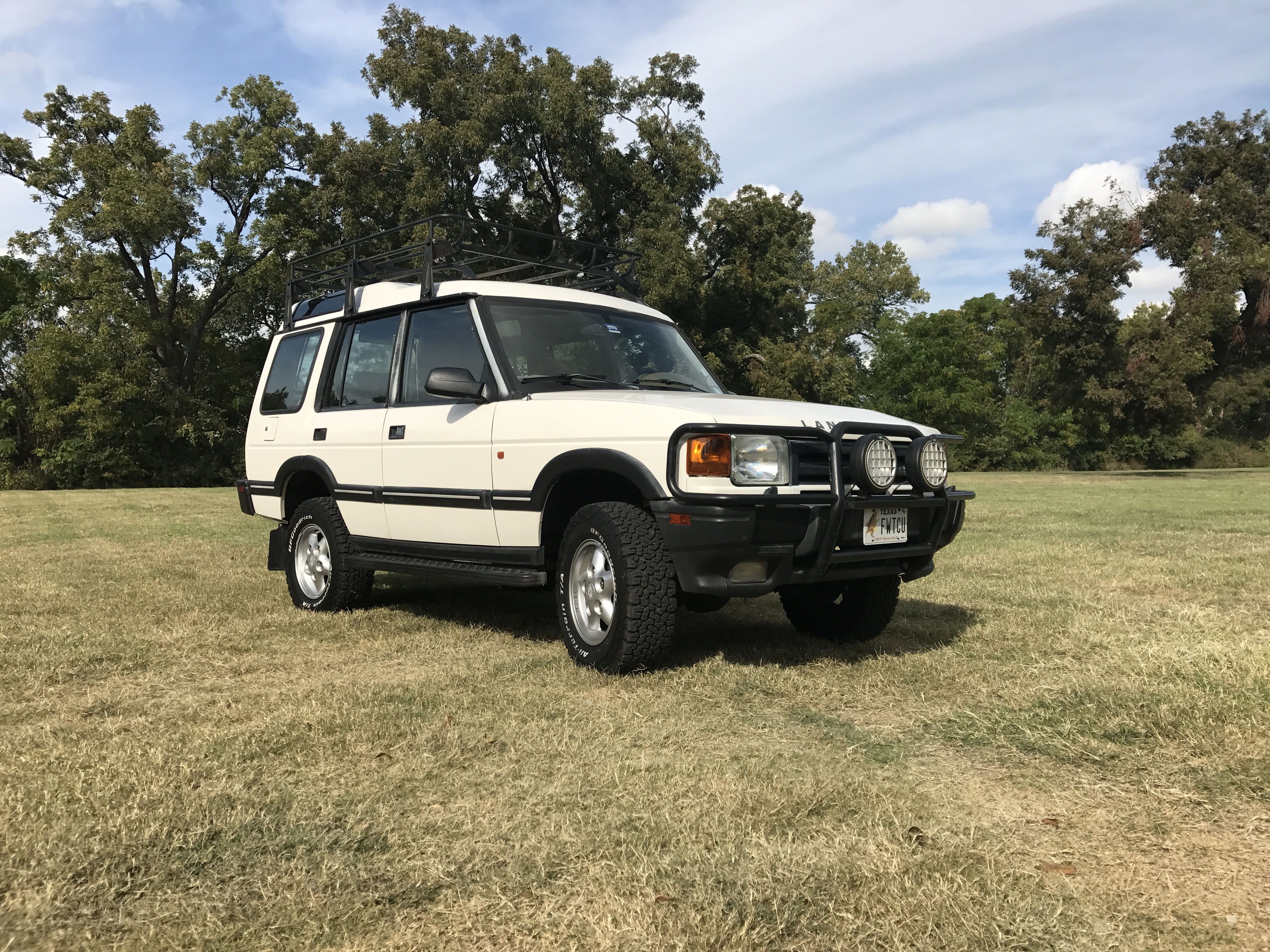 1996 Discovery SE7 Clean 2 owner rust free TX truck $6 000 Land