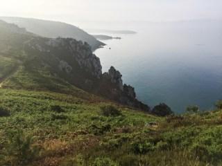 Paysage falaises Crozon