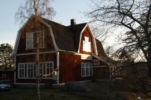 I den gamla folkskolan hittar vi mysiga Lofta cafe.