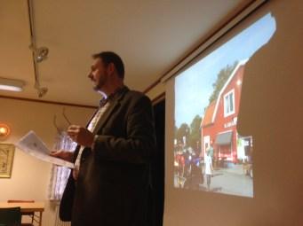 Tomas Krontåhl berättade lite om den tillträdande majoritetens tankar för de kommande fyra åren.