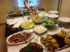 Lunchen levererades av Mörtfors Pensionat och smakade utsökt.