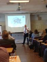 Räddningstjänsten i Östergötland berättade om vilken beredskap de har i skärgårdsområdet.