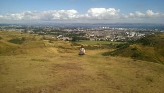 View of Edinburgh from King Arthur's Seat