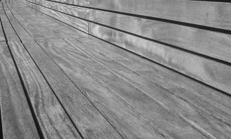 Bench detail, Queen Elizabeth Olympic Park, London