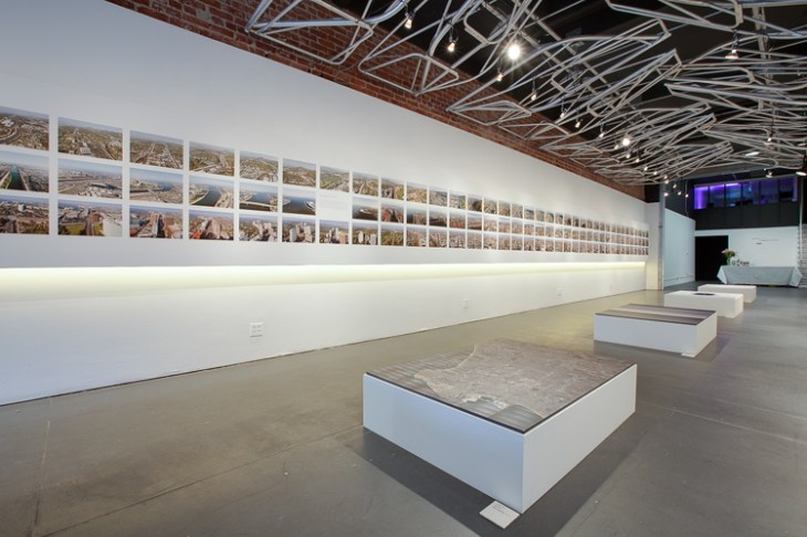 Gallery display of Lane Barden's Linear City.