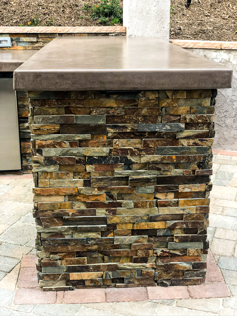 Flagstone Bar Harvey Carlsbad Landscape Assistance