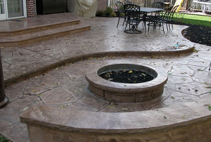 Concrete Patio Ideas Pictures Cost 2016 Design Plans